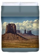 The Majesty Of Monument Valley  Duvet Cover