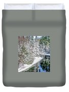 The Manistee River  Duvet Cover