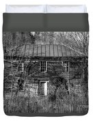 The Mansion Bw Duvet Cover