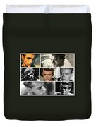 James Dean The Many Faces Duvet Cover