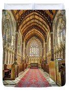 The Marble Church Interior Duvet Cover