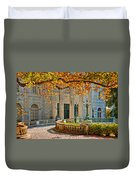 The Marble House In Autumn Duvet Cover