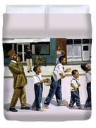 The Marching Band Duvet Cover