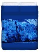 The Margerie Glacier 1 Duvet Cover