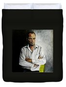 The Marketing Man Duvet Cover