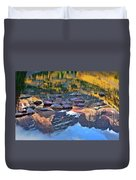 The Maroon Bells Reflected Duvet Cover