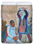 The Martydom Of St Maurice Duvet Cover