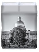 The Mass State House Duvet Cover