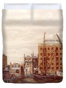 The Mayfloer Pub Rotherhithe London Duvet Cover