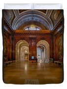 The Mcgraw Rotunda At The New York Public Library Duvet Cover