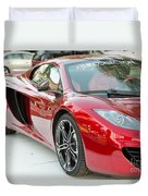 The Mclaren Apple Red Collection  Duvet Cover
