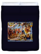 The Meeting Of Abraham And Melchizedek Duvet Cover