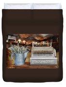 The Mercantile Duvet Cover