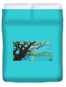 The Mermaid Tree Duvet Cover