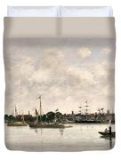 The Meuse At Dordrecht Duvet Cover