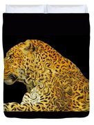 The Mighty Panthera Pardus Duvet Cover
