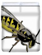 The Mighty Wasp Duvet Cover