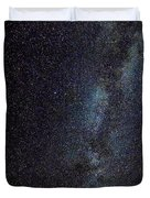 The Milky Way Galaxy  Duvet Cover