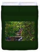 The Mill Paint 2 Duvet Cover by Steve Harrington