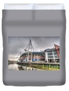 The Millennium Stadium Duvet Cover