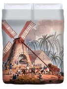The Millyard, From Ten Views Duvet Cover by William Clark