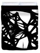 The Minaret And Art Duvet Cover