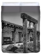 The Mission Bell B/w Duvet Cover