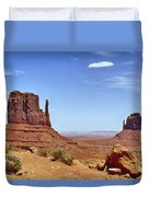 The Mittens Monument Valley Duvet Cover