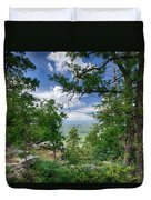 The Mogollon Rim  Duvet Cover