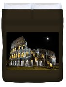 The Moon Above The Colosseum No1 Duvet Cover