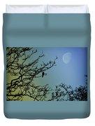 The Morning Moon Duvet Cover