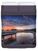 The Morning Sky Duvet Cover