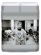 The Moroccan Farmer Duvet Cover
