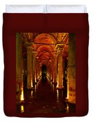 The Most Romantic Place Of Istanbul Duvet Cover