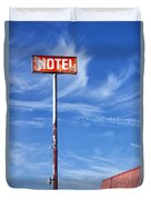 The Motel Palm Springs Desert Hot Springs Duvet Cover
