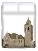 The Mother Church The First Church Of Christ Scientist Boston Massachusetts Circa 1900 Duvet Cover