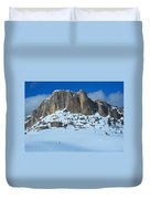 The Mountain Citadel Duvet Cover