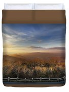 The Mountains Of Brasstown Bald Duvet Cover