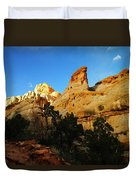 The Mountains Of Capital Reef   Duvet Cover