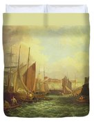 The Mouth Of The Yare, 1821 Duvet Cover