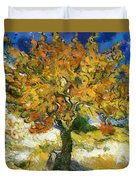 The Mulberry Tree After Van Gogh Duvet Cover