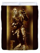 The Mummy Document Duvet Cover by John Malone