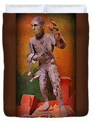 The Mummy Duvet Cover by John Malone