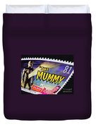 The Mummy Postage Stamp Print Duvet Cover