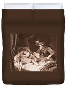 The Murder Of The Princes In The Tower Duvet Cover