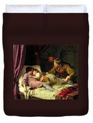 The Murder Of The Sons Of Edward Iv Duvet Cover