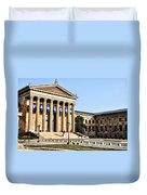 The Museum Of Art In Philadelphia Duvet Cover