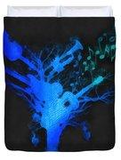 The Music Tree Duvet Cover
