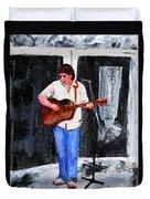 The Musician Duvet Cover