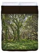 The Mysterious Forest - The Magical Trees Of The Los Osos Oak Reserve. Duvet Cover